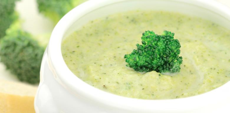 Recetas con aceite de oliva: crema de brócoli